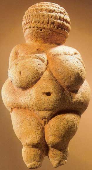 Вилендорфската венера, 30 - 15 000год. п.н.е.